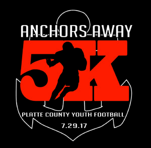 2017 ANCHORS AWAY 5K @ Platte County High School Football Field | Platte City | Missouri | United States